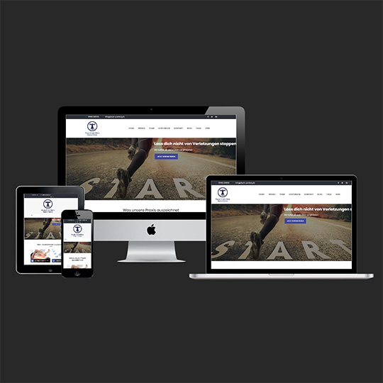 Webdesign, Homepage, Referenz - Physio SportReha Marco Grimm