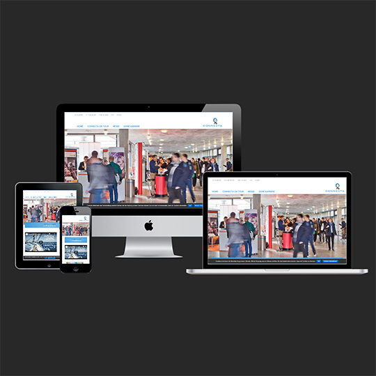 Webdesign, Homepage, Referenz - Connecta Regensburg